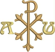 ... Chi Rho, Iglesias, Corpus Christi, Machine Embroidery Designs, Catholic, Medieval, Symbols, Banners, Prayer