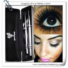 Say NO to false lashes or eyelash extensions and grab a Younique 3D fiber (fibre) lash mascara!  You won't look back!  To purchase: https://www.youniqueproducts.com/greeneyes