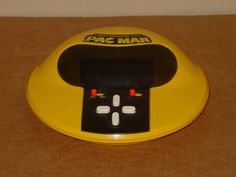 VINTAGE 1981 TOMY TABLETOP PAC MAN VIDEO ARCADE GAME WORKING TOMYTRONIC