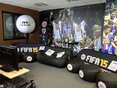 3 ballons trépied lumineux de 1m pour le jeu FIFA