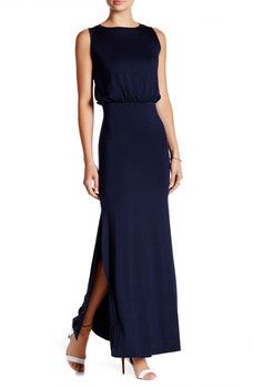 Go Couture - Sleeveless Maxi Dress