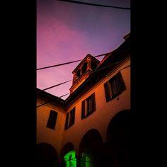 #sunset #church #cloister #evening #pink #fuchsia #greenlight #tramonto #chiesa #chiostro #sera #rosa #verde #shotonmylumia #shotonlumia #lumiaphotography #instagrammers #instamood #instacool #sunsetlovers #sunsetporn #likeme #followme