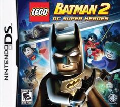 LEGO BATMAN 2: DC SUPER HEROES – NINTENDO DS $8.95 --> https://pyroflame.com/collections/rare-games/products/lego-batman-2-dc-super-heroes-nintendo-ds #ecommerce #gaming #retrogaming #gamer #retro #gamersunite