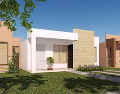 Fachadas de casas bonitas y pequeñas                              …