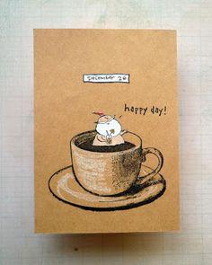 Whimsical Stamper, Happy Emilia: Darkroom Door Coffee Time Rubber Stamp Set. http://www.darkroomdoor.com/rubber-stamp-sets/rubber-stamp-set-coffee-time