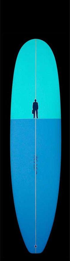 Mini Longboard / Manatee II | blue green