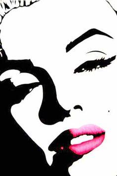 Marilyn Monroe Pop Art ......