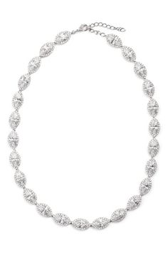 Nadri 'Marquise' Cubic Zirconia Necklace available at #Nordstrom    If anyone wants to buy this for me I'd be very happy.