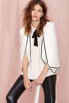 Gotham Cape Blazer | Shop What's New at Nasty Gal