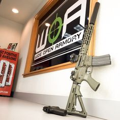 We can't get enough of the Johnny rifle! We have some in stock, but they are going quick. Order yours today. Wideopenarmory.com #300blk #sbr #aac @noveske_llc #noveske #suppressor #nfa #nra #cz #pistol #edc #killcliff @killcliff #cwp #guncontrol #surefire #aimpoint #t1 #mondayssuck #gunporn #igmilitia #dailybadass
