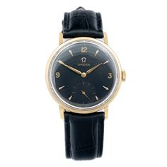 Omega wristwatch 18ct gold via MarCels. Click on the image to see more!