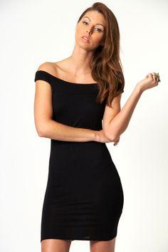 Fiona Off The Shoulder Dress Bodycon Dress