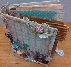 Scottie Crafts Blog: Kaisercraft Needle and Thread Paper creations by Wendy