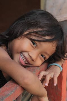 A child of Cambodia.....their smiles melt your heart. Photographer: Jake Corke