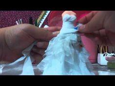 Vestido de Noiva em tecido
