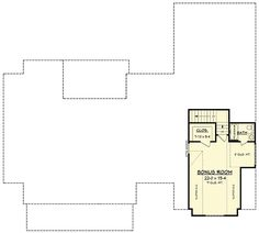 Plan 51754HZ: Modern Farmhouse Plan With Bonus Room