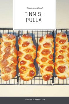 Finnish pulla. A sweet cardamom flavored bread, also called nisu. A triditional Finnish Coffee bread that goes back for centuries.
