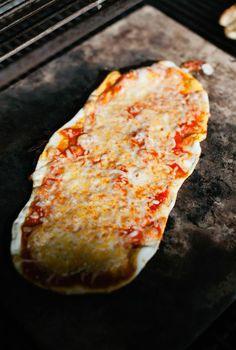 Pizza Dough and Pizza on the Grill | Eat • Drink • Garden • Santa Barbara, California