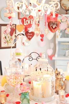 more valentine table ideas
