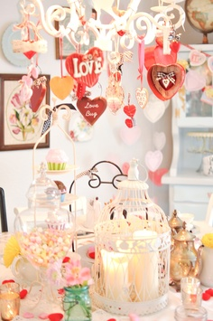 more valentine table ideas