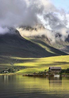 The Boat House at Achintrad.....Scotland