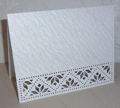 handmade card ... Fancy Edge Card 18 from Monica's Creative Room ... cutting machine file ... luv it!