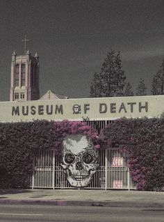 To do, The Museum Of Death in California.