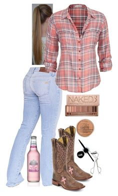 A fashion look from August 2015 featuring maurices tops. Browse and shop related looks. Country Style Outfits, Country Girl Style, Country Fashion, My Style, Country Girl Clothes, Country Dresses, Country Girl Makeup, Country Girl Hair, Country Girl Boots