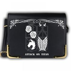 5895e19ef2 Attack on Titan Crossbody Bag - FREE SHIPPING