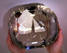 Reportedly the largest cut gemstone in the world! Amazing!