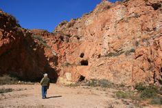 Extración de mineral en el Cerro del Cinto-Cabo de Gata Nijar