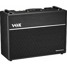 Check out this VOX Valvetronix  : The latest amp in the Valvetronix evolution with 99 presets, loads of FX, and more. For more details check it here:  http://www.musiciansfriend.com/amplifiers-effects/vox-valvetronix-vt120-120w-2x12-guitar-combo-amp