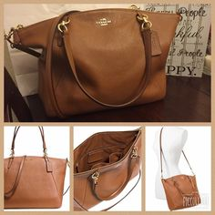 Large Coach Kelsey Satchel NWT!! Large Coach Kelsey Satchel NWT!! Brand new comes with Gift box! Feel free to make me an offer!! This would make a great Christmas gift also have the matching wallet!  Coach Bags Satchels
