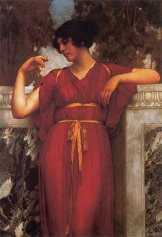 Great art from Art Authority for iPad: The Ring by Godward, John William