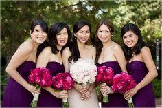 purple bridesmaid dresses   CHECK OUT MORE IDEAS AT WEDDINGPINS.NET   #bridesmaids