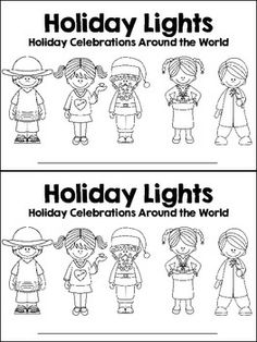 Holidays Around the World Posters and Printables $