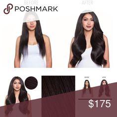 Bellissima 220g 22 dark brown 2 professional hair hair bellami hair extensions pmusecretfo Image collections