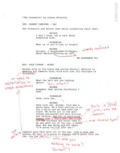 Read The Scene Where Cameron Diaz Has Sex With a Car in 'The Counselor' (with Original Studio Notes)