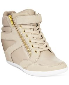 wholesale dealer 54ad5 1dab9 Thalia Sodi Azar High-Top Wedge Sneakers, Created for Macys Shoes -  Sneakers - Macys