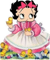 Image result for betty boop images for easter