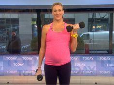 Kerri Walsh Jennings reveals pregnancy workout