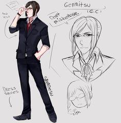 [YS] Male!Genka/Genmitsu by SayaDesu