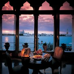 Four minutes by private launch from San Marco, on the tip of Giudecca Island, this iconic Orient-Express hotel commands unrivaled views of the lagoon and Doge's Palace. Steeped in Venetian style, it is known for interiors decorated in exquisite local artifacts, classic cuisine with an innovative twist and the most fabulous swimming pool in the city.