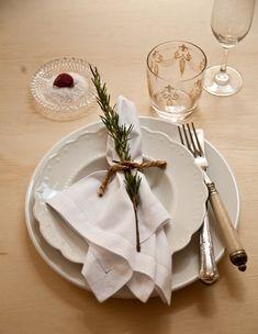 Simbolismos na mesa Ano Novo