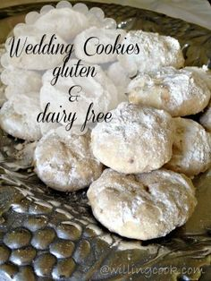 Wedding Cookies--Gluten and Dairy Free {I'm hoping these taste like my mom's butternut snowballs!} #cookie #gluten #free