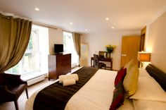 The boudoir part of the Bridal Suite. This room is complimentary to the bride and groom on their wedding day and if available, for the bride the night prior to the big day! www.missendenabbey.co.uk/weddings/