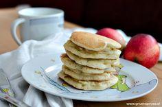 Apfelpancakes / Apple pancakes vegan / blw