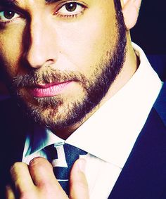 Zachary Levi no one should be this handsome and charming.