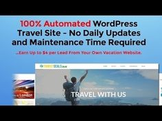 Imagine Having A 100% Self Updating Travel Site, With No Daily Updates and Maintenance Time Required.This website is a travel search engine with up-to-dat | Online Marketing Tools