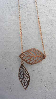 Two Leaf on a Gold Chain